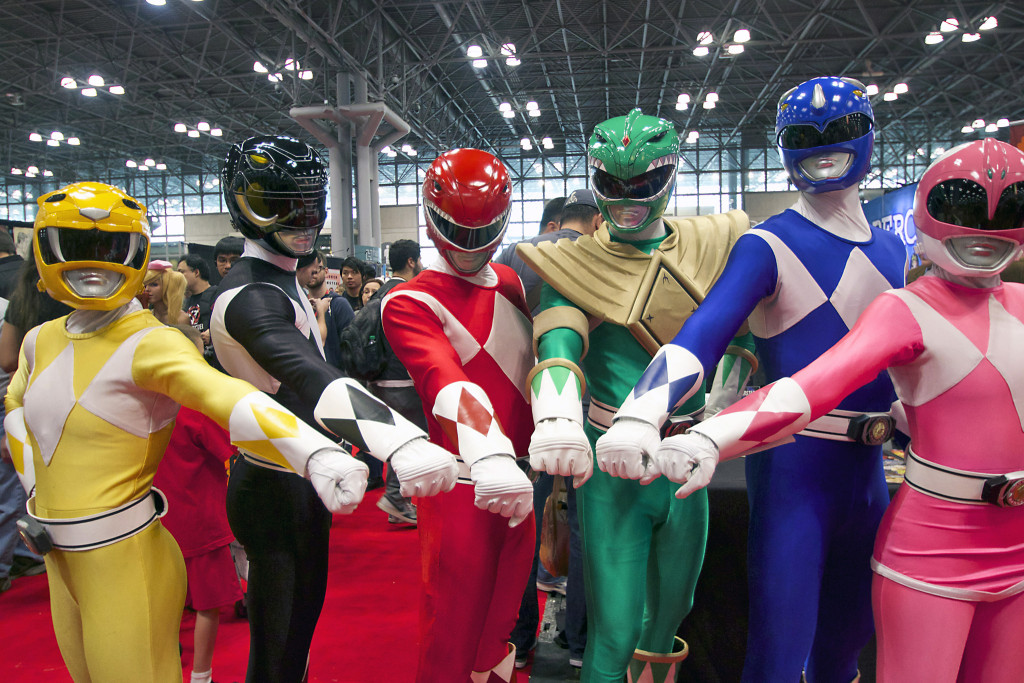 The Power Rangers movie will be among the Best Big Screen Reboots in 2017